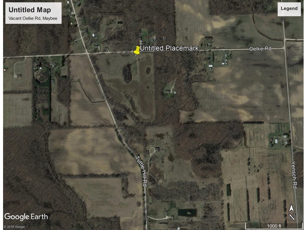 Vacant Land Oekle Rd - Oekle Rd, Maybee (London Twp), Michigan 48159 | Real Estate Professional Services