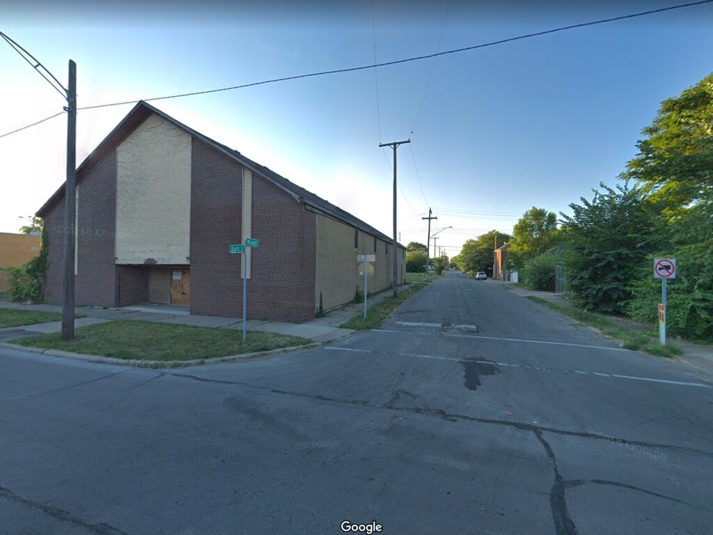 Former Church Building - 2059 S. Fort St, Detroit, Michigan 48217 | Real Estate Professional Services