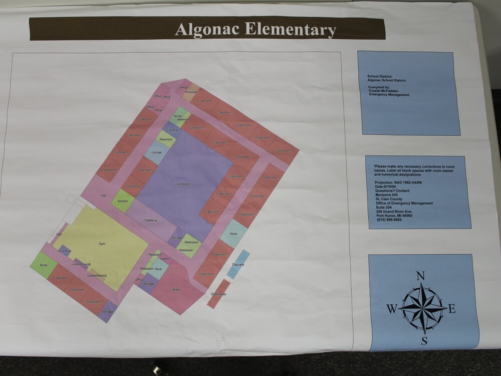 Former Algonac Elementary School | Real Estate Professional Services